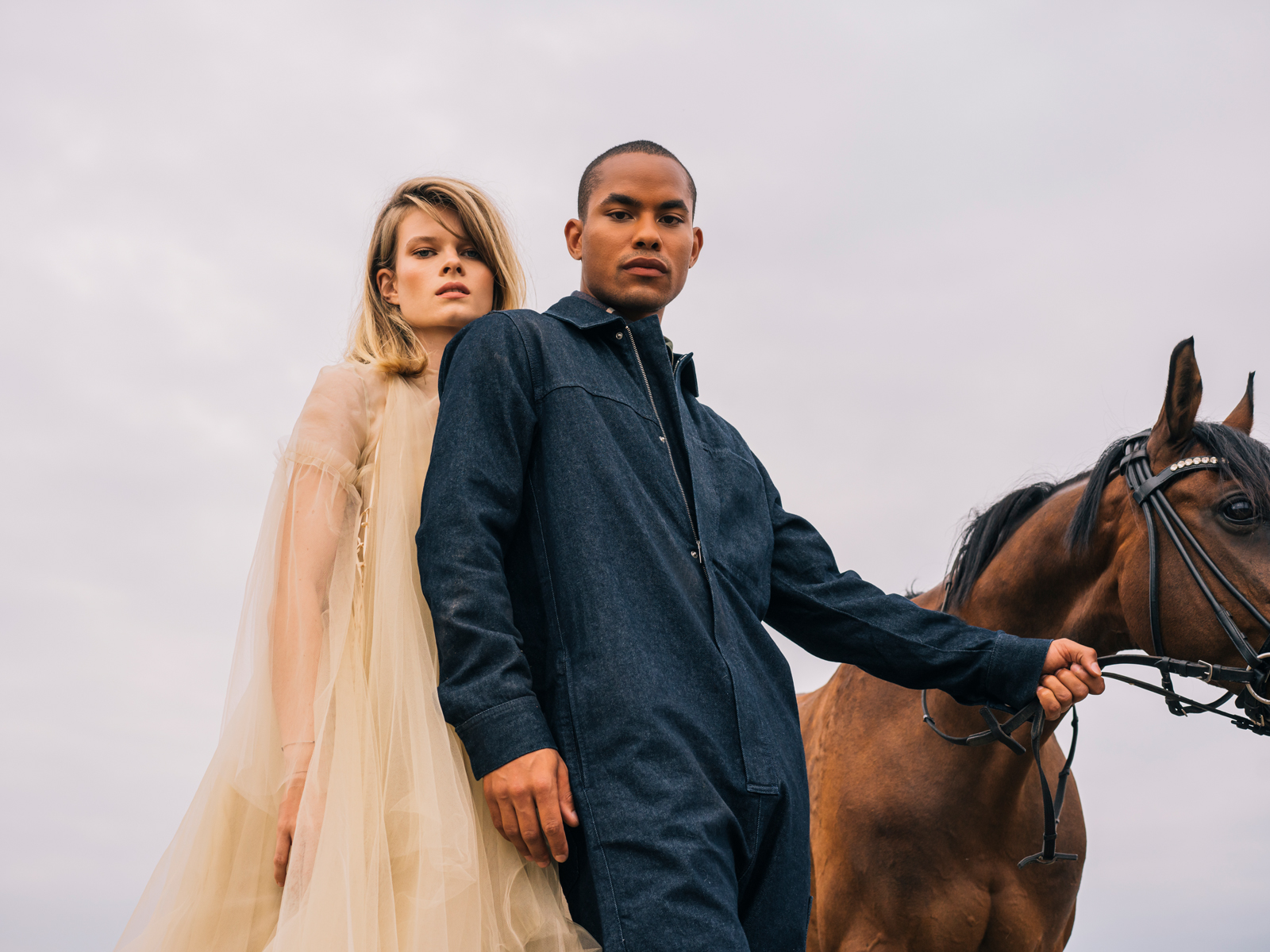 shooting, horses, fashion editorial, fashion stylist, Elena Shylina